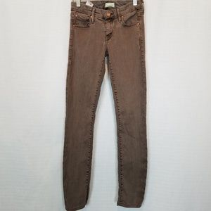 Mother | The Looker Pop! Dye-Clay Skinny Jeans 24
